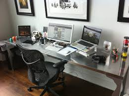 Diy Home Office Desk Plans Simple Big Desk Study Ideas Pinterest Office Hacks Desks