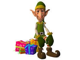 free stock photo of christmas elf sitting on presents public