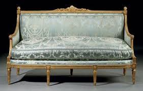 canap sofa a louis xvi gilt walnut canape by georges jacob circa 1775 price