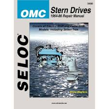 amazon com omc stern drive 1964 1986 repair manual coles
