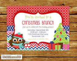 christmas brunch invitations cookie party pack cookie exchange
