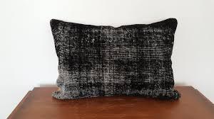 Cushion Rugs Black Rug Pillow Cover Overdyed Cushion Elegance U2013 Bosphorus Rugs