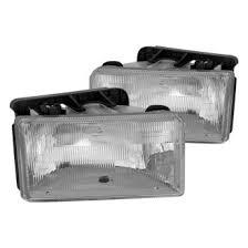 2001 dodge dakota headlight assembly 1995 dodge dakota custom factory headlights carid com