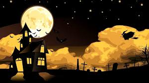 halloween background with house download halloween wallpapers in 2k and full hd