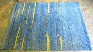 Gabbeh Rugs Sale 16 Artistic And Simple Bright Blue Rugs Selection Home Living