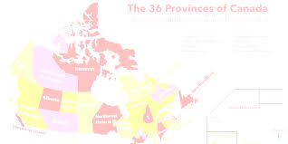 Map Of Montreal Canada by Map Of Canada With Provinces And Capitals Evenakliyat Biz