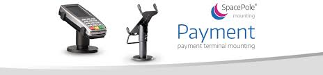 spacepole payment mounting solutions for payment terminals