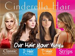 cinderella hair extensions salon support