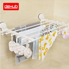 Telescopic Bathroom Shelves Multifunction Wall Mounted Towel Holder Foldable Movable Bath