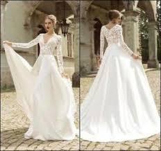 custom made wedding dress vintage wedding dresses appliques sleeve bridal gowns custom