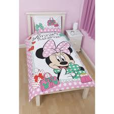minnie mouse reversible bed linen great kidsbedrooms the