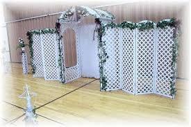 wedding backdrop lattice white lattice of honor duties event ideas