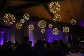 grapevine balls hanging grapevine balls at a wedding in chicago mdm entertainment