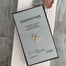 godmother necklace godmother necklace godmother gift baptism and christening gifts