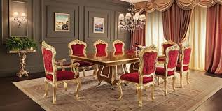 Dining Room Set With Red Chairs Effie Dining Room Set W Red - Red dining room chairs