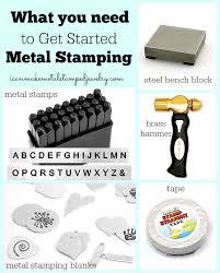 Tools Needed For Jewelry Making - sweet and spicy bacon wrapped chicken tenders metal stamping