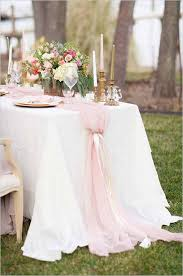 dusty rose table runner 26 ridiculously pretty seriously creative wedding table runners