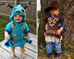 Clint Eastwood Halloween Costume Mom Crochets Costume Son Freehand