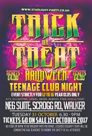 halloween contacts uk halloween teenage club night starlight party mobile disco newcastle
