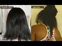 natural hair no heat challenge 6 month no heat challenge 1 month length check youtube