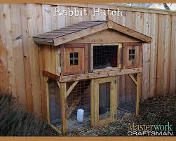 Fox Proof Rabbit Hutches Rabbit Hutch Plan Woodworking Projects U0026 Plans U2026 Pinteres U2026