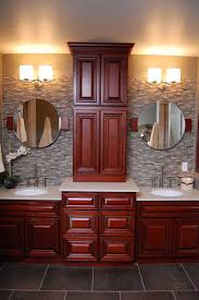 kitchen cabinets as bathroom vanity home decoration ideas painted bathroom cabinets and kitchens cherryville cherryville