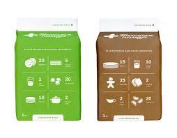 bolshaya pol u0027za u201d flour brand brand name logo and package by