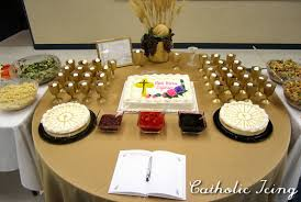 first communion party ideas with an easy cake idea