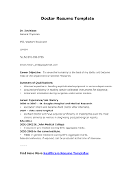 Doctor Resume Example by Resume Doctors Resume