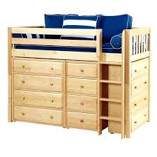 Bunk Beds With Dresser Underneath Bed With Dresser Style S Style Junior Loft Bed With Desk