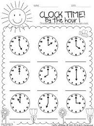 40 best education telling time images on pinterest telling