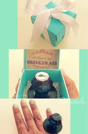 ring pop bridesmaid invite question of bridesmaid invitation box with ring gift for
