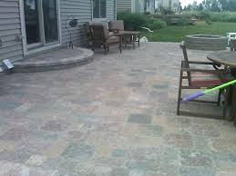 exterior design appealing patio design with cozy tremron pavers