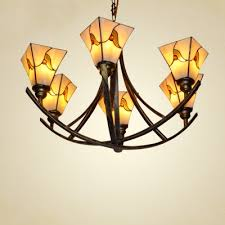 Tiffany Chandelier Lamps Fashion Style 6 Lights Tiffany Lights Beautifulhalo Com