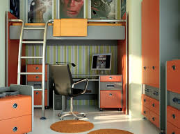 cozy kids bunk beds with desk u2014 all home ideas and decor