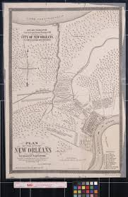 Map New Orleans Plan Of The City Of New Orleans And The Adjacent Plantations