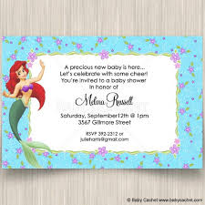 lil baby shower mermaid baby shower invitations plumegiant