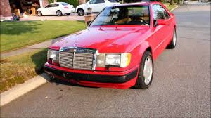 1991 mercedes benz 300ce youtube
