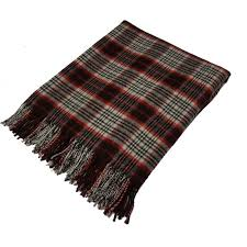 Brown Tartan Rug Scottish Lambswool Tartan Rugs Buy Online Scotland Kinloch