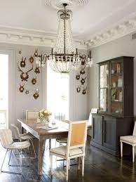 Dining Room Crystal Chandelier by Dining Room Breathtaking Masculine Dining Room Designs With
