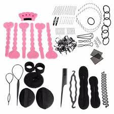 bun clip magic hair clip style maker pads foam sponge bun donut hairpins