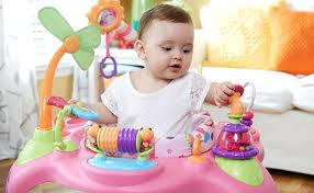 infant activity table toy baby walker entertainer safety baby gear guides kids ii
