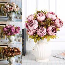 Fake Peonies Artificial Peonies Flowers Ebay