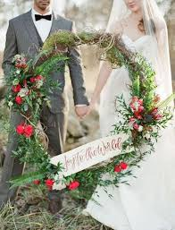 wedding wreath 35 winter wedding wreaths that you ll happywedd