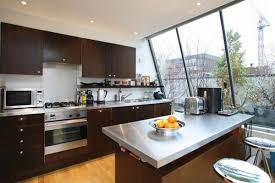 london kitchen design stainless steel countertops kitchen design with oven fascinating