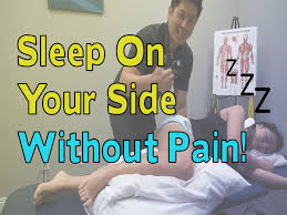 how to on your side without neck neutral spine