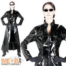 Trinity Halloween Costume Trinity Matrix Movie Fancy Dress Womens Halloween Costume