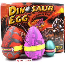 dinosaur easter eggs 6pcs lot strange new gift oversize dinosaur eggs hatching