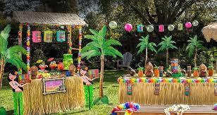 luau theme party hawaiian birthday party for baby girl luau decorations 0