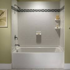 Bathroom Tile Ideas For Shower Walls Bathroom Shower Tub Tile Ideas Photogiraffe Me